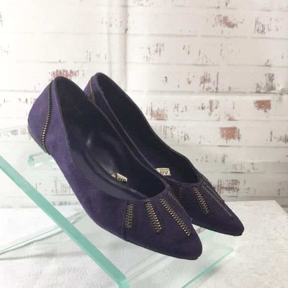 Xhilaration Shoes - Purple Flats Ballerina Shoes Size 5.5